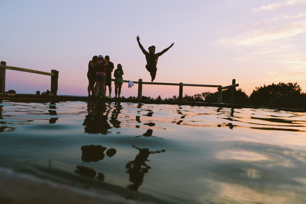 Berlin Summer Swimming